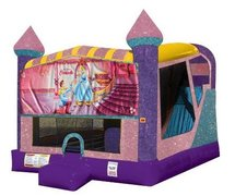 Cinderella 4in1 Combo Bouncer Pink