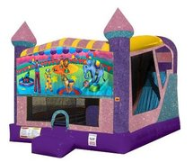 Circus 4in1 Combo Bouncer Pink