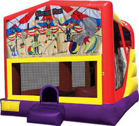 Circus Fun 4in1 Bounce House Combo