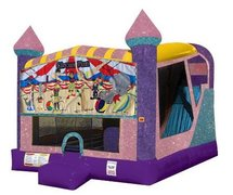 Circus Fun 4in1 Combo Bouncer Pink