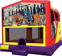 Construction 4in1 Bounce House Combo