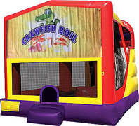 Crawfish Boil 4in1 Bounce House Combo