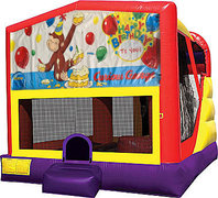 Curious George 4in1 Bounce House Combo