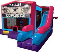 Dallas Cowboys Inflatable Pink Combo 7in1