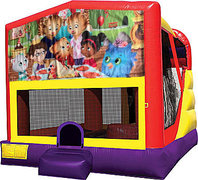 Daniel the Tiger 4in1 Bounce House Combo