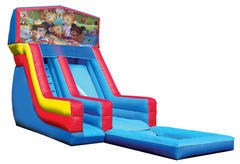 Daniel the tiger water slide