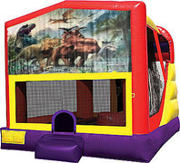 Dinosaurs 3 4in1 Bounce House Combo