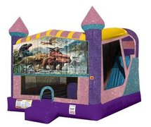 Dinosaurs 3 4in1 Combo Bouncer Pink