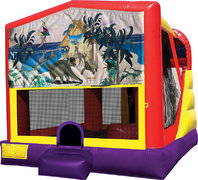 Dinosaurs 4in1 Bounce House Combo