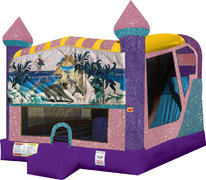 Dinosaurs 4in1 Combo Bouncer Pink