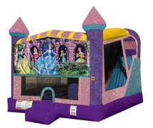 Disney Princess 4in1 Combo Bouncer Pink