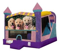 Dogs 4in1 Combo Bouncer Pink