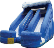 16 Ft. Double Lane Water Slide