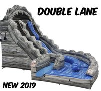 18 Ft. Wild Rapids double lane Water Slide 2 Day rental