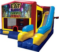 Play Games Inflatable Combo 7in1