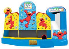 Elmo 5in1 Inflatable Bounce House combo