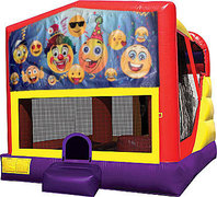 Emoji 4in1 Bounce House Combo