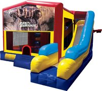 Fast and Furious Inflatable Combo 7in1