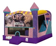 Fast and Furious 4in1 Combo Bouncer Pink