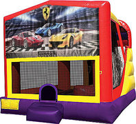 Ferrari 4in1 Bounce House Combo