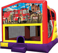 Firemen 4in1 Bounce House Combo