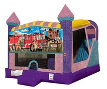 Firemen 4in1 Combo Bouncer Pink