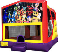 Five Nights of Freddy 4in1 Bounce House Combo