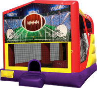 Football 4in1 Bounce House Combo