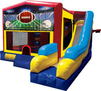 Football Inflatable Combo 7in1