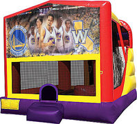 Golden State Warriors 4in1 Bounce House Combo