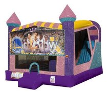 Golden State Warriors 4in1 Combo Bouncer Pink