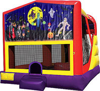 Halloween 2 4in1 Bounce House Combo