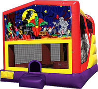 Halloween 4in1 Bounce House Combo