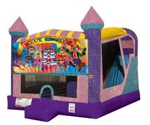 Happy Birthday Kids 4in1 Combo Bouncer Pink