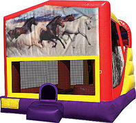 Horses 4in1 Bounce House Combo