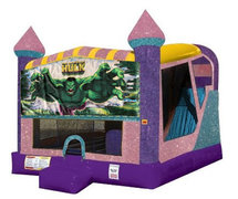 Hulk 4in1 Combo Bouncer Pink