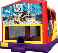 Ice Age 4in1 Bounce House Combo