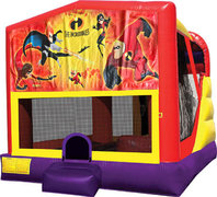 Incredibles 4in1 Bounce House Combo