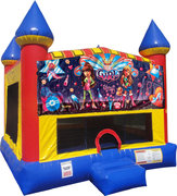 Its a Girl Thing Inflatable bounce house with Basketball Goal