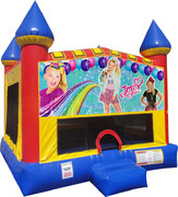 JoJo Siwa Inflatable bounce house with Basketball Goal