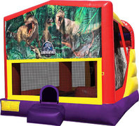 Jurassic Park 4in1 Bounce House Combo
