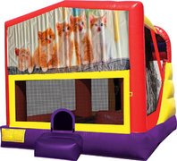 Kitty Cats 4in1 Bounce House Combo