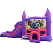 LEGO Ninjago Dream Double Lane Wet/Dry Slide with Bounce House