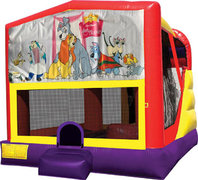 Lady and the Tramp 4in1 Bounce House Combo