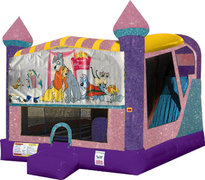Lady and the Tramp 4in1 Combo Bouncer Pink