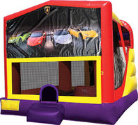 Lamborghini 4in1 Bounce House Combo