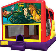 Lion King 4in1 Inflatable bounce house combo