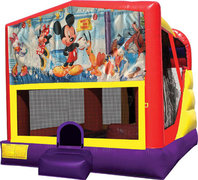 Mickey Mouse 4in1 Bounce House Combo