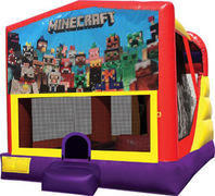 Minecraft 4in1 Bounce House Combo