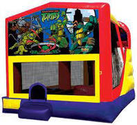 Ninja Turtles 4in1 Inflatable bounce house combo